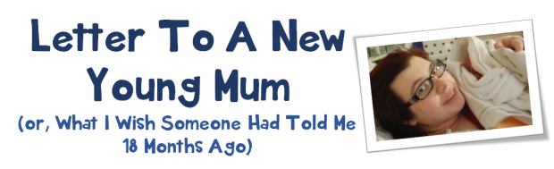 letter to a new young mum